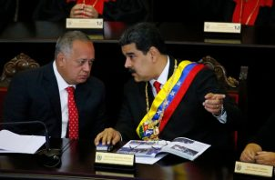 Diosdado Cabello es el segunda en el gobierno de Nicolás Maduro. FOTO/AP