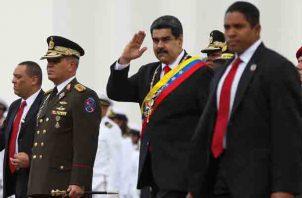 """Nicolás Maduro llamó a la """"máxima movilización popular para asegurar la victoria de la paz""""."""