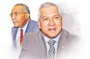 Denuncian penalmente a los magistrados Abel Zamorano y Luis Mario Carrasco. Foto: Panamá América.