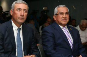 Los diputados de Cambio Democrático, Sergio Gálvez y del Partido Revolucionario Democrático, Zulay Rodríguez votaron en contra de ambas desiganciones. Foto/Cortesía