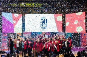 Momentos de la premiación en Argentina. Foto: Cortesía/ Felicia Arguello