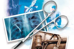 Se presentaron 43 denuncias por negligencia médica en los ocho primeros meses del año. Infografía de Epasa