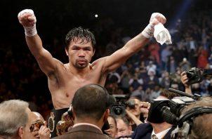 Manny demostró que le queda mucho boxeo.