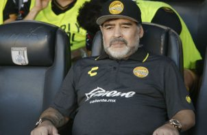 Diego Maradona. Foto:EFE