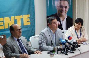 El candidato presidencial Marco Ameglio solicitó a Ricardo Lombana y Ana Matilde Gómez unificar sus propuestas.