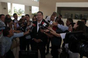 Marco Ameglio, candidato por la libre postulación, dijo que se hizo justicia.