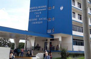 Falleció el domingo en el hospital Rafael Hernández en la ciudad de David. Foto: José Vásquez.