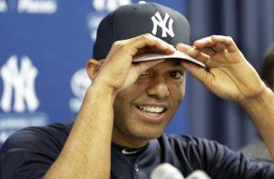 Mariano Rivera se prepara para otro gran día en su carrera.