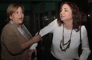 Las querellas surgen por acusaciones sin aparente fundamento contra Ricardo Martinelli, por parte de Mariela Ledezma y Annette Planells. Foto: Víctor Arosemena.