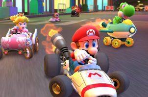 Ya puedes jugar Mario Kart Tour en tu celular.