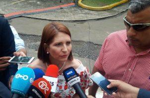 Niegan que hayan solicitado levantamiento de fuero a Marta Linares de Martinelli. Foto: Archivo.
