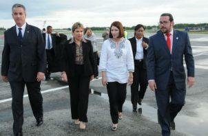 Marta Linares de Martinelli advierte sobre posible fraude electoral a misión de la OEA. Foto: Panamá América.
