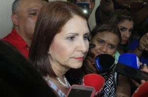 Marta Linares de Martinelli aclara que no está mencionada en caso Blue Apple. Foto/Archivos