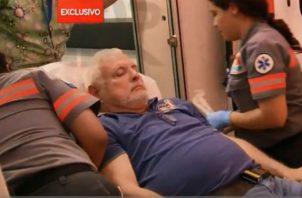 Ricardo Martinelli ha sido atendido por problemas de salud en 75 ocasiones durante sus 8 meses de detención preventiva. Foto: Panamá América.