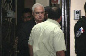 Escogen Tribunal de Juicio Oral  encargado de audiencia de juicio de expresidente Ricardo Martinelli. Foto/Archivos