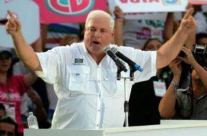 Precandidato a la alcaldía de Panamá por libre postulación Ricardo Martinelli. Foto/Archivos