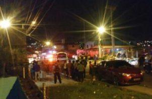 Sigue la violencia en las calles de Panamá.