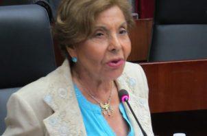 La diputada Mayín Correa quiere ver si González investiga como debe ser a su amiga. Foto de archivo