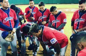 Jugadores de Veraguas. Foto:Instagram