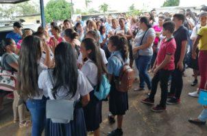 A finales de marzo pasado el Meduca había anunciado el inicio de clases en este colegio para este 22 de abril. Foto/Eric Montenegro