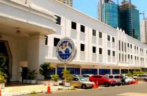 Actualmente las oficinas del MEF están ubicadas en vía España, edificio Ogawa.
