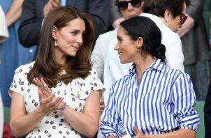 Meghan Markle y Kate Middleton.