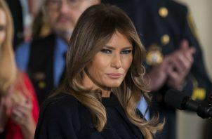 """La primera dama señaló que ella es una de las personas """"más acosadas en el mundo"""", motivo por el que inició la campaña """"Be Best"""" (""""Sé mejor""""), centrada en los niños y contra el acoso en internet."""