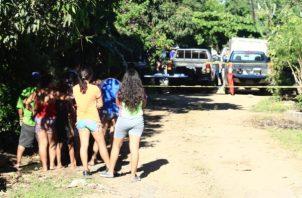 Se trata del segundo homicidio en lo que va del 2019 en la provincia.foto/Thays Domínguez