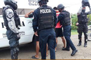 En Chiriquí los menores de edad, según investigaciones que han realizando las autoridades también forman parte de algunas pandillas que operan en esta provincia. Foto/José Vásquez