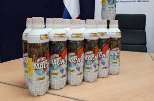 """""""Mero Macho"""" se comercializaba en el mercado local como energizante y potenciador sexual."""
