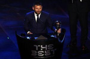 Leo Messi. Foto:AP
