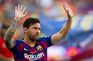 Lionel Messi  está lesionado.