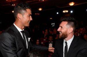 Messi no tiene problemas con Cristiano.