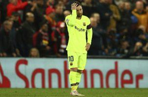 Messi se sintió responsable.