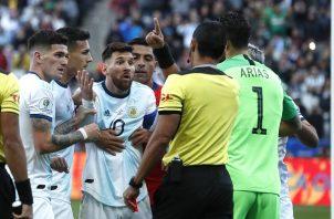 Messi sigue sin ganar un gran título con Argentina.