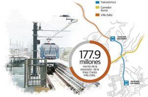 La constructora OHL se ganó la extensión de la Línea 1 del Metro de Panamá.
