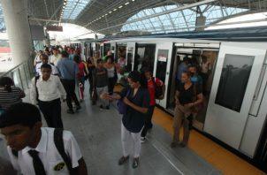 Metro de Panamá. Foto/Archivos
