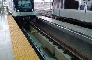 Los primeros trenes de la Línea 1 se acercan a 700 mil kilómetros recorridos. Foto de archivo
