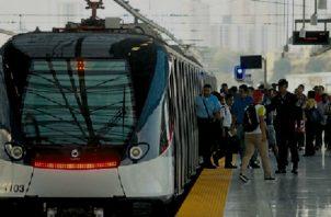 La nueva estación del metro contaría  con dos andenes laterales y apoyo tipo pórtico para aliviar el movimiento de pasajeros. Foto: Panamá América