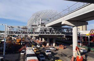 La Línea 2 del metro estará operando para los días la JMJ. Foto: @elmetrodepanama