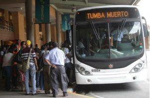Mi Bus y el Metro de Panamá lograron trasladar el pasado 15 de abril 989,766 pasajeros.