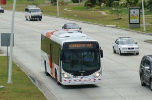 Gasto en subsidio al transporte público sobrepasa los $90 millones de dólares. Foto: Panamá América.