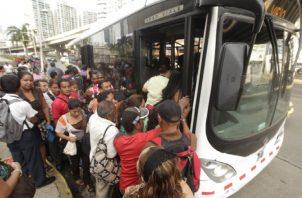 Las nuevas rutas serían más que nada para alimentar al Metro de Panamá y el costo será igual. Foto de archivo