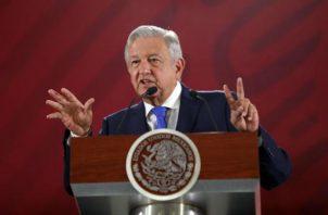 Andrés Manuel López Obrador, presidente de México. Foto/EFE