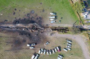 De los 109 fallecimientos, 98 han ocurrido en los hospitales a donde fueron llevados los heridos por la explosión. FOTO/AP
