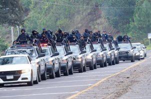 La Fiscalía estatal precisó que los dos cárteles buscan el control de las operaciones ilícitas en Michoacán y las zonas limítrofes con los estados de Guanajuato, Jalisco, Estado de México, Colima y Querétaro. FOTO/EFE