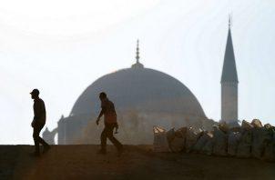 Dos hombres lanzaron una granada. Foto: Archivo/Ilustrativa.
