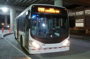 Metrobús respalda operaciones del Metro de Panamá tras apagón. Foto/Cortesía