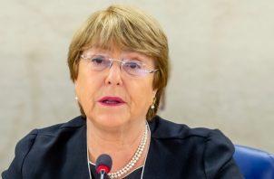 Las liberaciones ocurrieron solo días después de que la alta comisionada de Naciones Unidas para los derechos humanos, Michelle Bachelet, visitara el país. FOTO/EFE