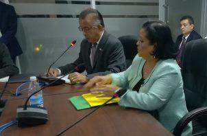 Ministro del MIDA sustentó ante la Comisión de Presupuesto, la vista presupuestaria para la vigencia fiscal 2020.